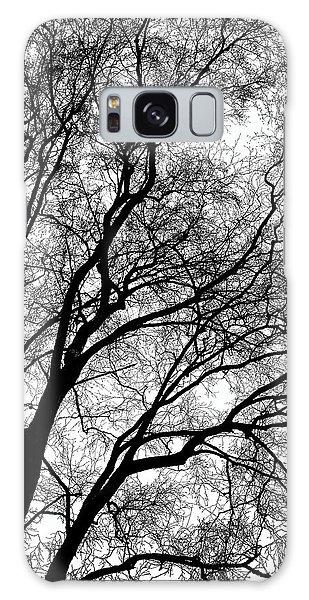 Tree Silhouette Series 1 Galaxy Case