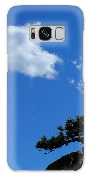 Tree Sky Cloud Galaxy Case