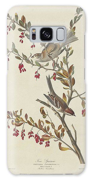 Tree Sparrow Galaxy Case by Dreyer Wildlife Print Collections