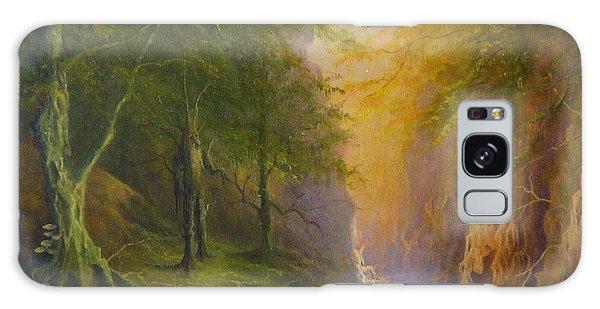 Fairytale Forest Tree Spirit Galaxy Case