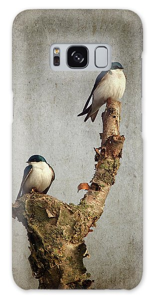 Tree Swallows Galaxy Case