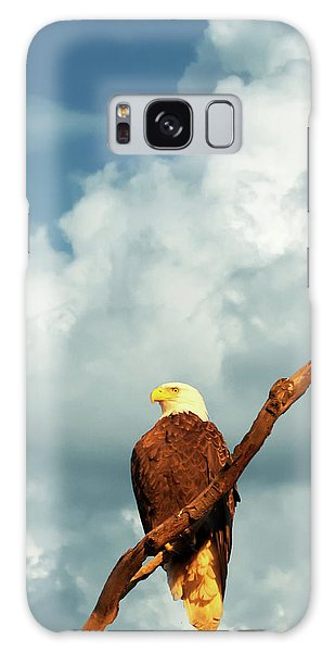 Tree Top Eagle  Galaxy Case