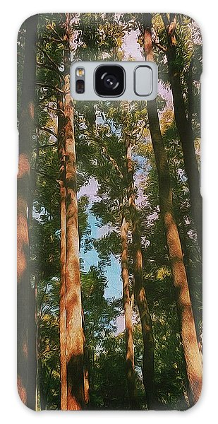 Tree Trunks Galaxy Case