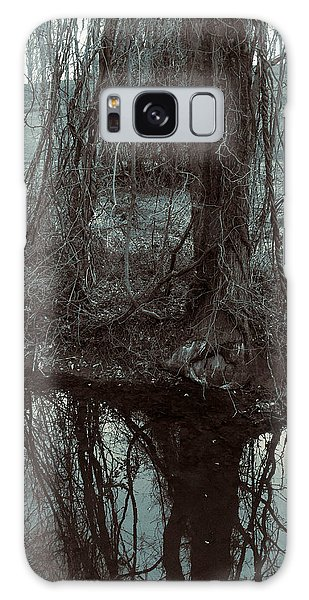 Tree Vines Water Galaxy Case