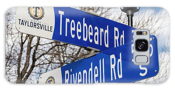 Treebeard And Rivendell Street Signs Galaxy Case by Gary Whitton