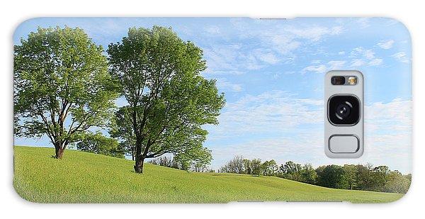 Summer Trees 3 Galaxy Case
