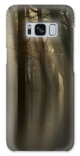 Trees And Light Galaxy Case