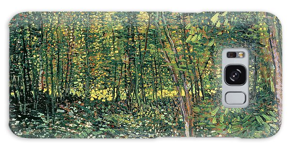 Crt Galaxy Case - Trees And Undergrowth by Vincent Van Gogh