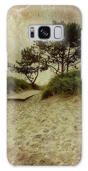 Trees By The Sea Galaxy Case