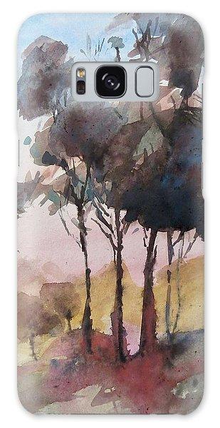 Trees Galaxy Case by Geni Gorani