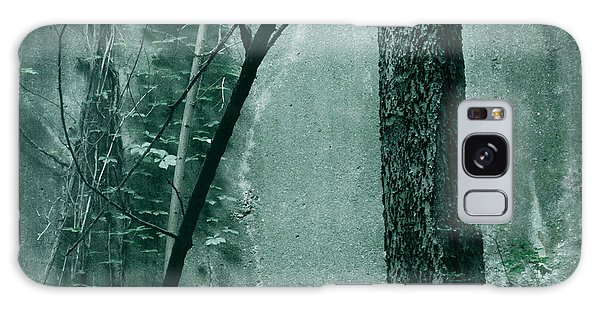 Trees Growing In Silo - Green Landscape  Edition Galaxy Case by Tony Grider