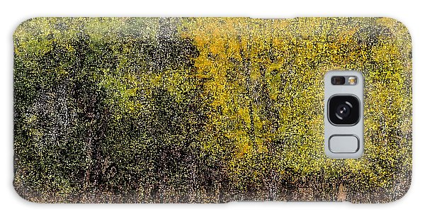 Trees In Fall With Texture Galaxy Case