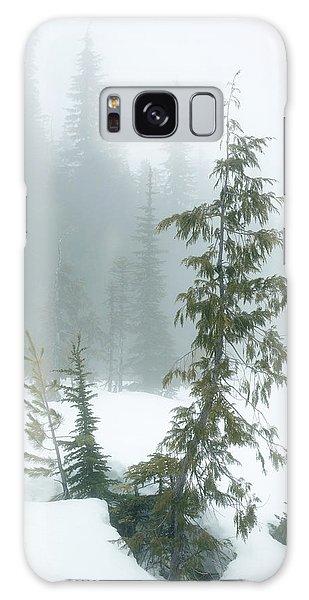 Trees In Fog Galaxy Case