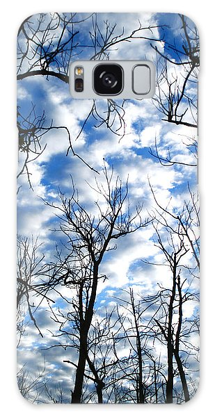 Trees In The Sky Galaxy Case by Shari Jardina