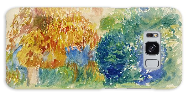 Impressionistic Galaxy Case - Trees  by Pierre-Auguste Renoir