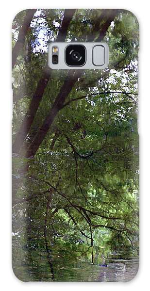 Trees Reflected In A Woodland Stream 2867 H_2 Galaxy Case