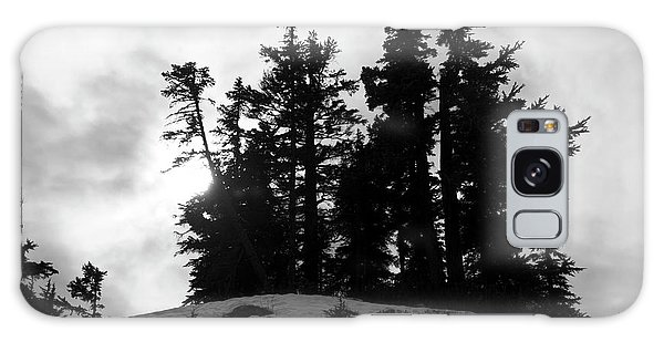 Galaxy Case featuring the photograph Trees Silhouettes by Yulia Kazansky