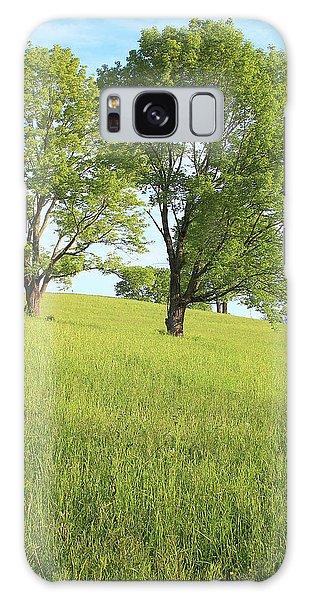 Summer Trees 2 Galaxy Case