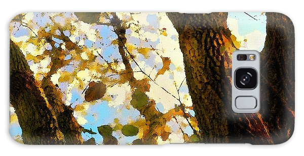 Treetop Abstract-look Up A Tree Galaxy Case