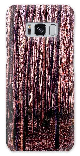Treez Red Galaxy Case