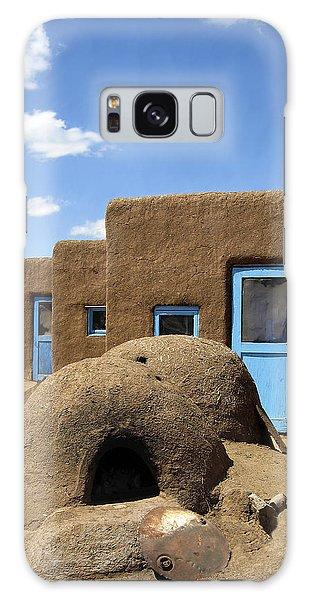 Tres Casitas Taos Pueblo Galaxy Case