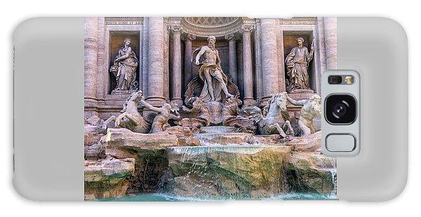 Trevi Fountain, Roma, Italy Galaxy Case