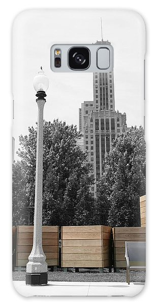 Galaxy Case featuring the photograph Tri Towers by Dylan Punke