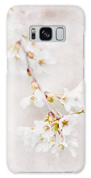Triadelphia Cherry Blossoms Galaxy Case