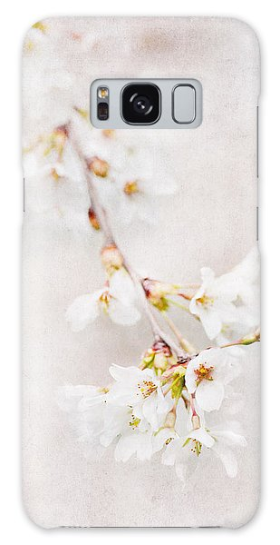 Triadelphia Cherry Blossoms Galaxy Case