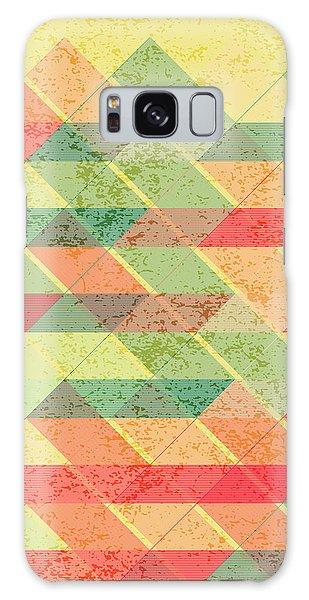 Triangles Pattern Galaxy Case by Gaspar Avila