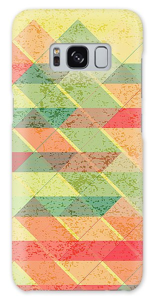 Autumn Galaxy Case - Triangles Pattern by Gaspar Avila