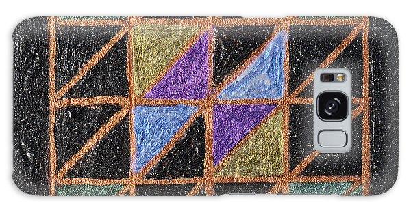 Iridescent Galaxy Case - Triangulation by Donna Blackhall