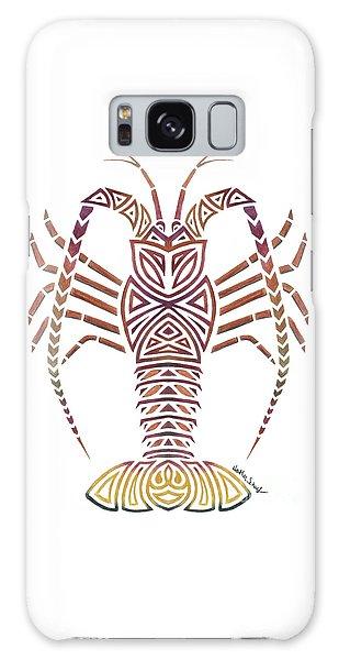 Tribal Caribbean Lobster Galaxy Case