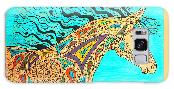 Tribal Carnival Spirit Horse Galaxy Case by Susie WEBER