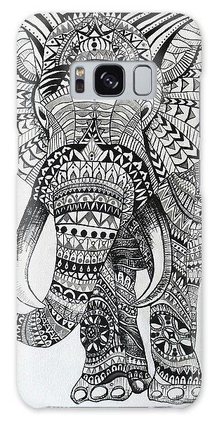 Tribal Elephant Galaxy Case by Ashley Price