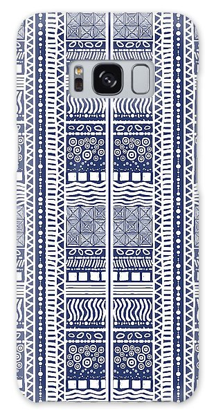 Tribal Sampler Indigo Galaxy Case