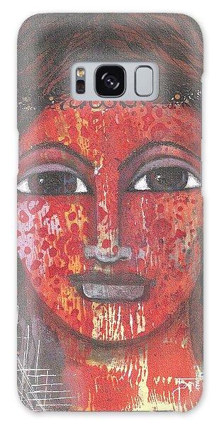 Tribal Woman Galaxy Case