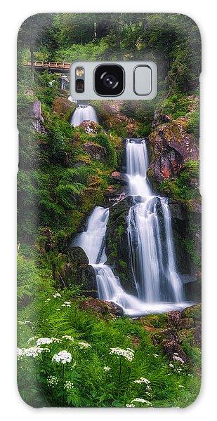 Triberg Waterfalls Galaxy Case
