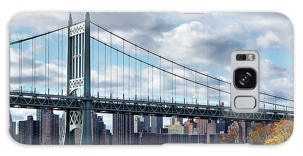 Triboro Bridge In Autumn Galaxy Case