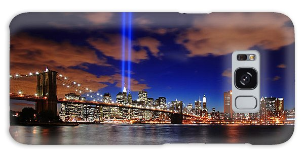 Tribute In Light Galaxy Case by Rick Berk