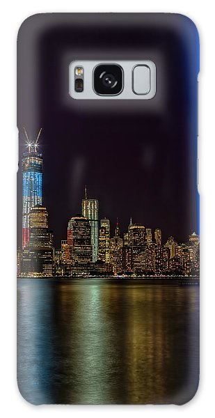 Galaxy Case featuring the photograph Tribute In Lights Memorial by Susan Candelario