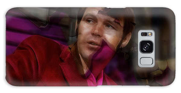 Galaxy Case featuring the mixed media Tribute To Glen Campbell by Marvin Blaine