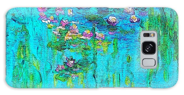 Tribute To Monet Galaxy Case