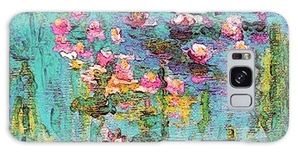 Tribute To Monet II Galaxy Case