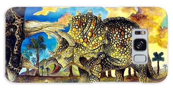 Triceratops Galaxy Case