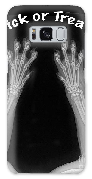 Galaxy Case featuring the photograph Trick Or Treat by Bill Thomson