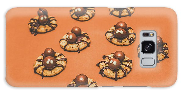 Decorative Galaxy Case - Trick Or Treat Halloween Spider Biscuits by Jorgo Photography - Wall Art Gallery