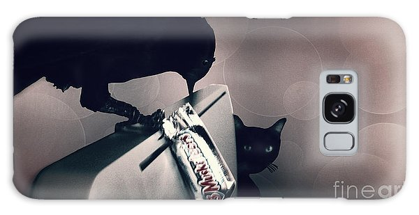 Galaxy Case featuring the photograph Trick Or Treat by Megan Dirsa-DuBois