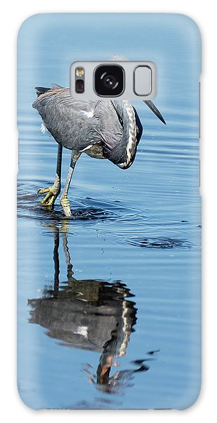Tricolored Heron Full Tilt Galaxy Case