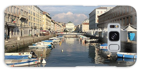 Trieste Grand Canal Galaxy Case